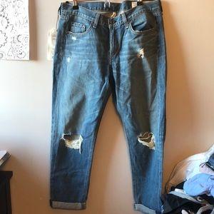 Rag& Bone boyfriend jeans